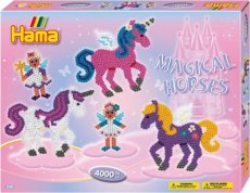 Hama 3138 Strijkparels Box horses 4000p magical